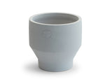 18 cm Light Grey Indoor Edge Pot by Skagerak