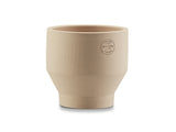 18 cm Sierra Yellow Indoor Edge Pot by Skagerak
