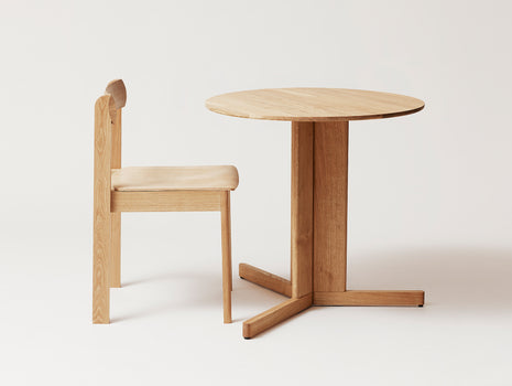 Trefoil Table by Form and Refine - White Oiled Oak