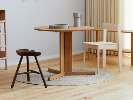Trefoil Table by Form and Refine - Oiled Oak