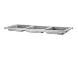 String System Felt Bowl Shelf - Light Grey