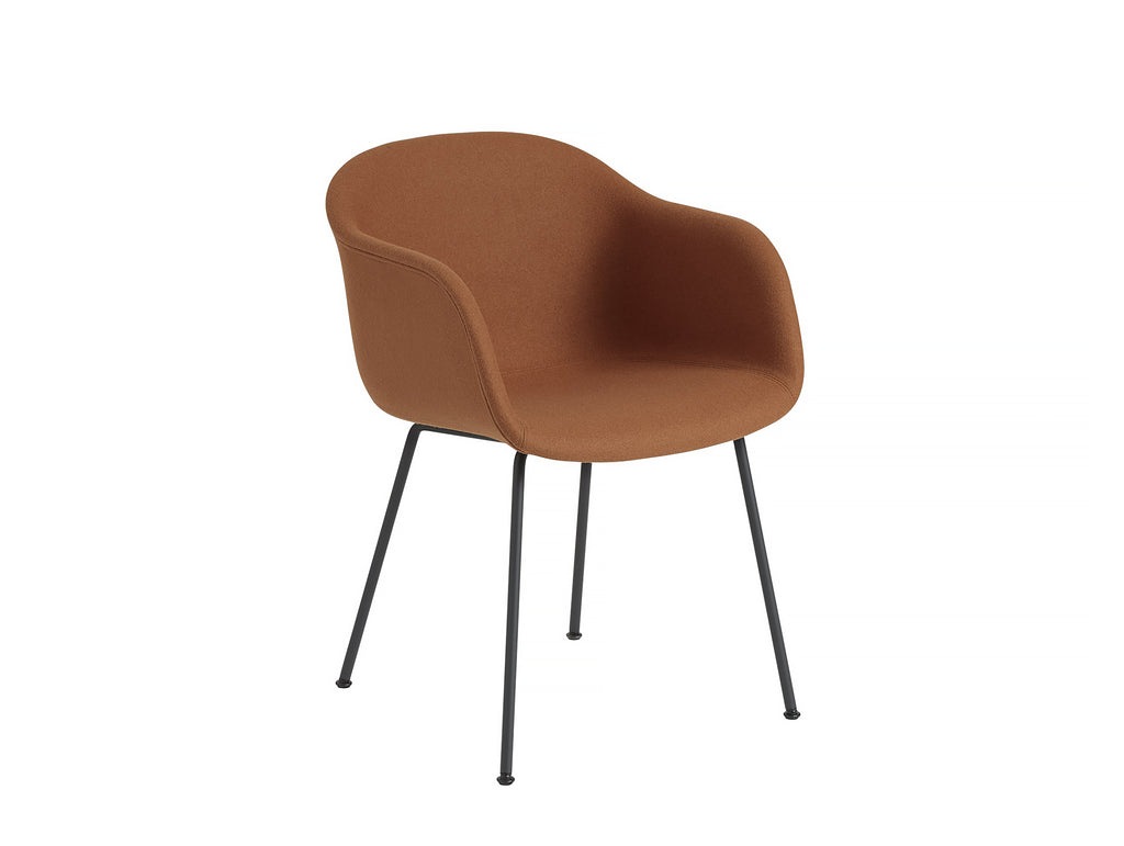 Fiber Armchair - Hero 481, Black Metal Base