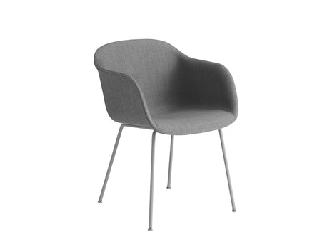 Fiber Armchair - Remix 133, Grey Metal Base