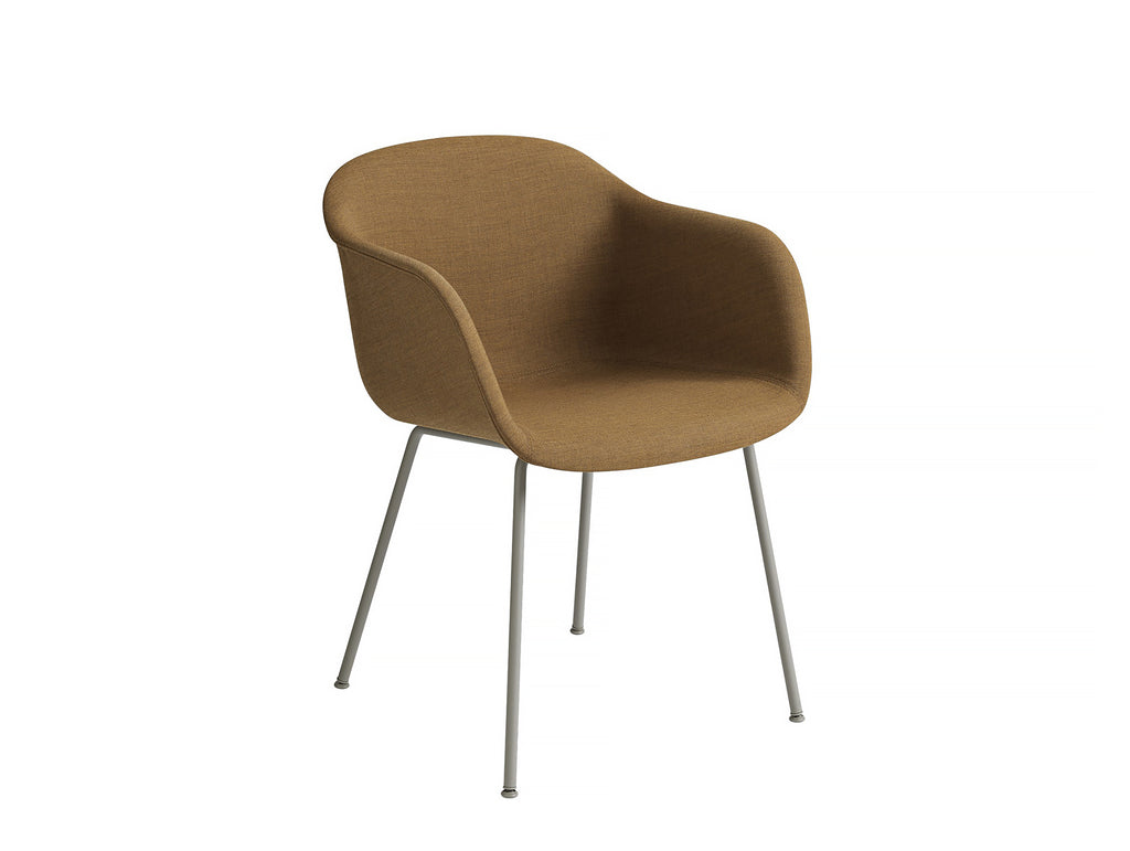 Fiber Armchair - Remix 433, Grey Metal Base