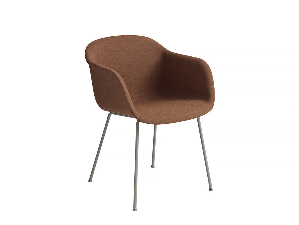 Fiber Armchair - Remix 452, Grey Metal Base