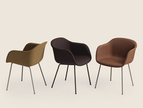 Muuto Fiber Armchair with Metal Legs