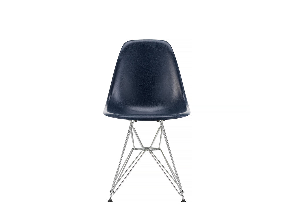 Navy Blue, Eames Fiberglass DSR Side Chair by Vitra