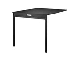 String Folding Table - Black Ash