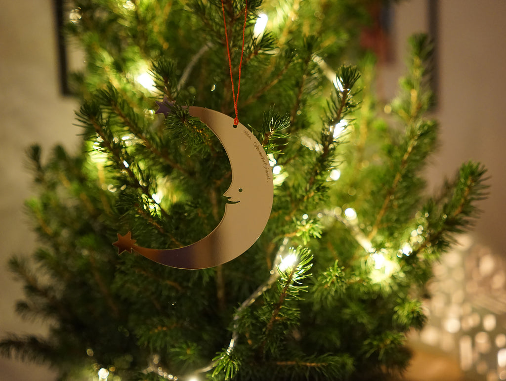 Moon Ornament designed by Alexander Girard for Vitra