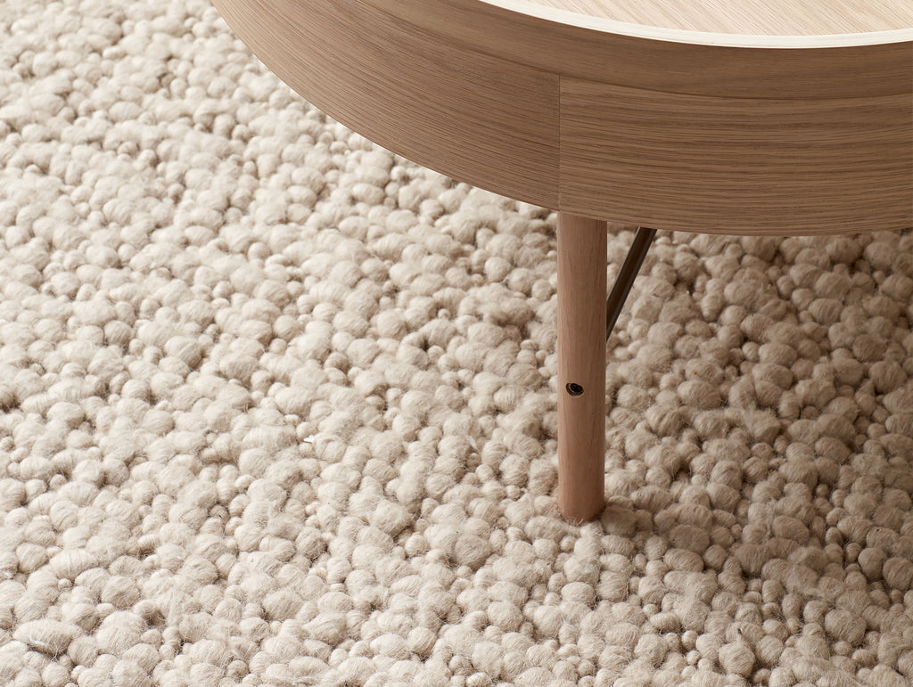 Ivory Gravel Rug by Menu
