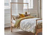 Grey Rainy Day Bed Linen by Donna Wilson