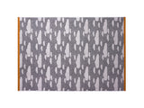 Grey Rainy Day Sheet Towel by Donna Wilson