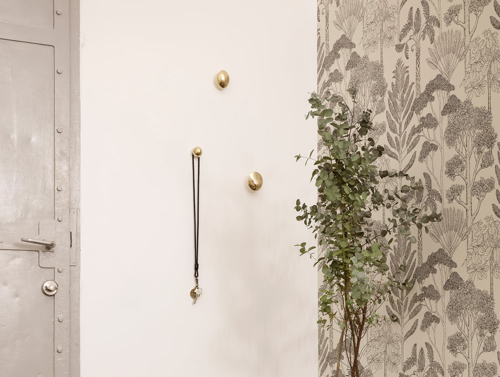 Helena Rohner Brass Hooks by Ferm Living