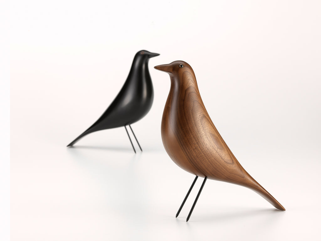 Eames House Bird Walnut by Vitra