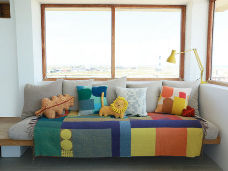 Hue Cushion by Donna Wilson