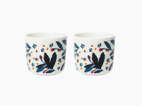 Hyhmä Coffee Cup Without Handle - Set of 2 by Marimekko