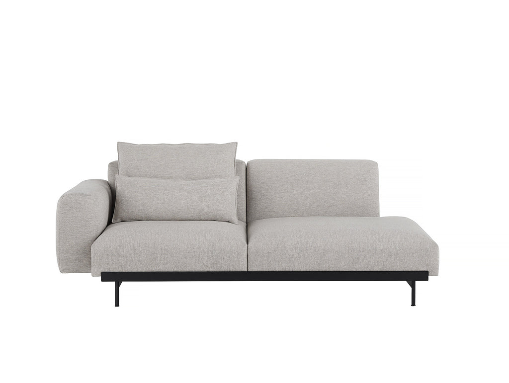 In Situ 2-Seater Sofa - Configuration 3 (Left Armrest) in Clay 12 by Muuto