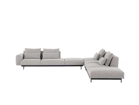 In Situ Modular Sofa Series Corner Configuration 8 in Clay 12 by Muuto