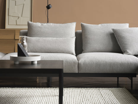 In Situ Modular Sofa Series Corner Configuration 9 in Clay 12 by Muuto