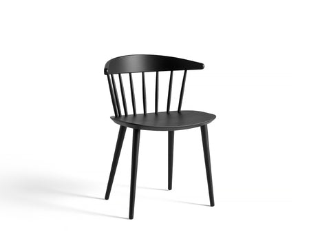 J-Series Chairs - J104 - Black Painted Beech