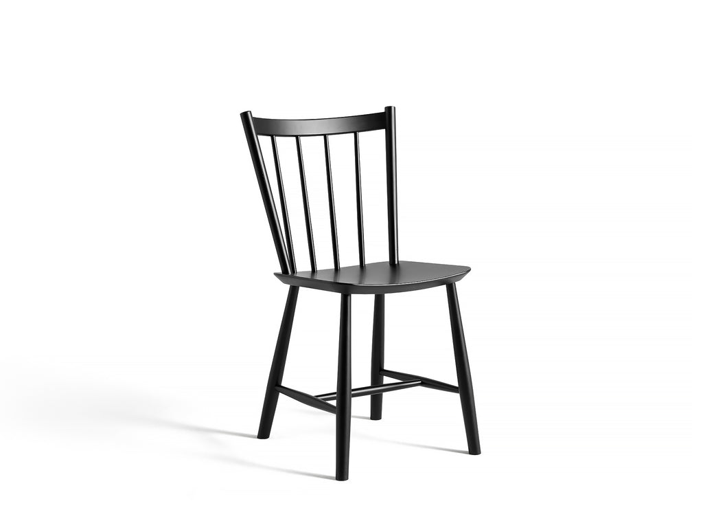 J-Series Chairs - J41 - Black Painted Beech