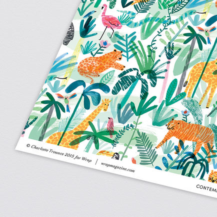 Jungle Animals Wrapping Paper x 3 Sheets by Wrap