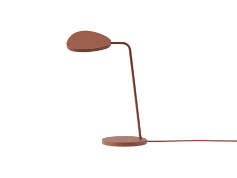 Copper Brown Leaf Table Lamp by Muuto