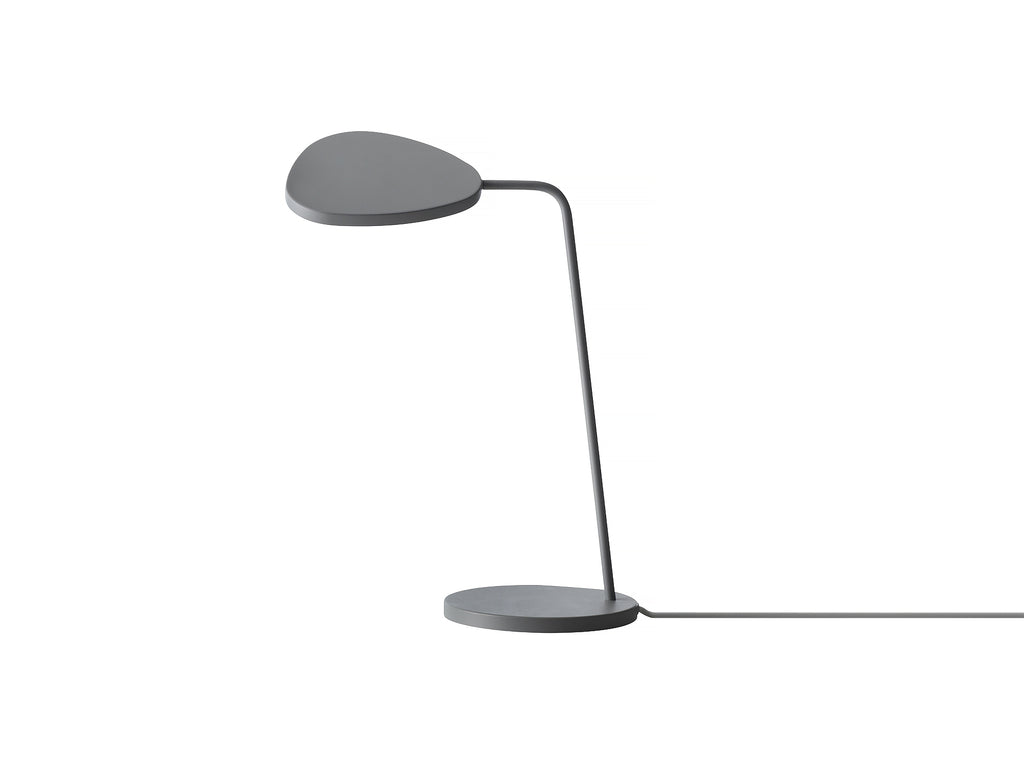 Grey Leaf Table Lamp by Muuto
