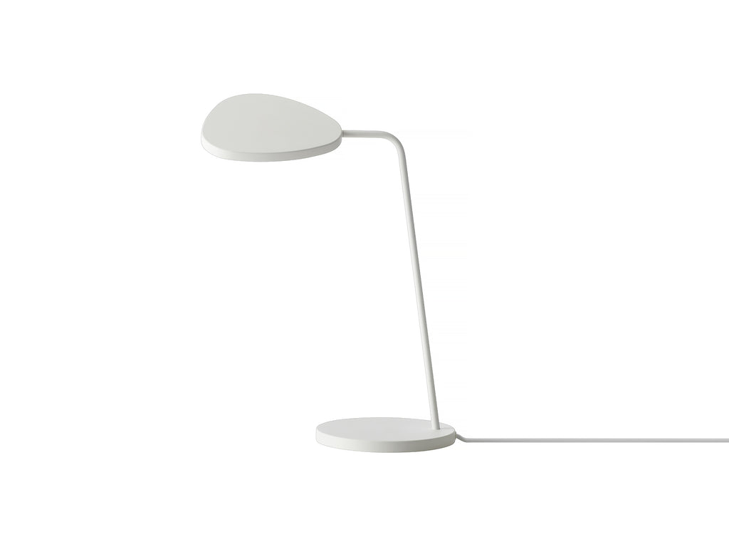 White Leaf Table Lamp by Muuto