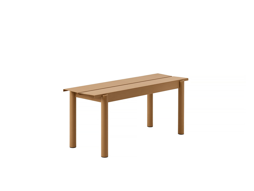 Muuto Linear Bench 110 cm - Burnt Orange