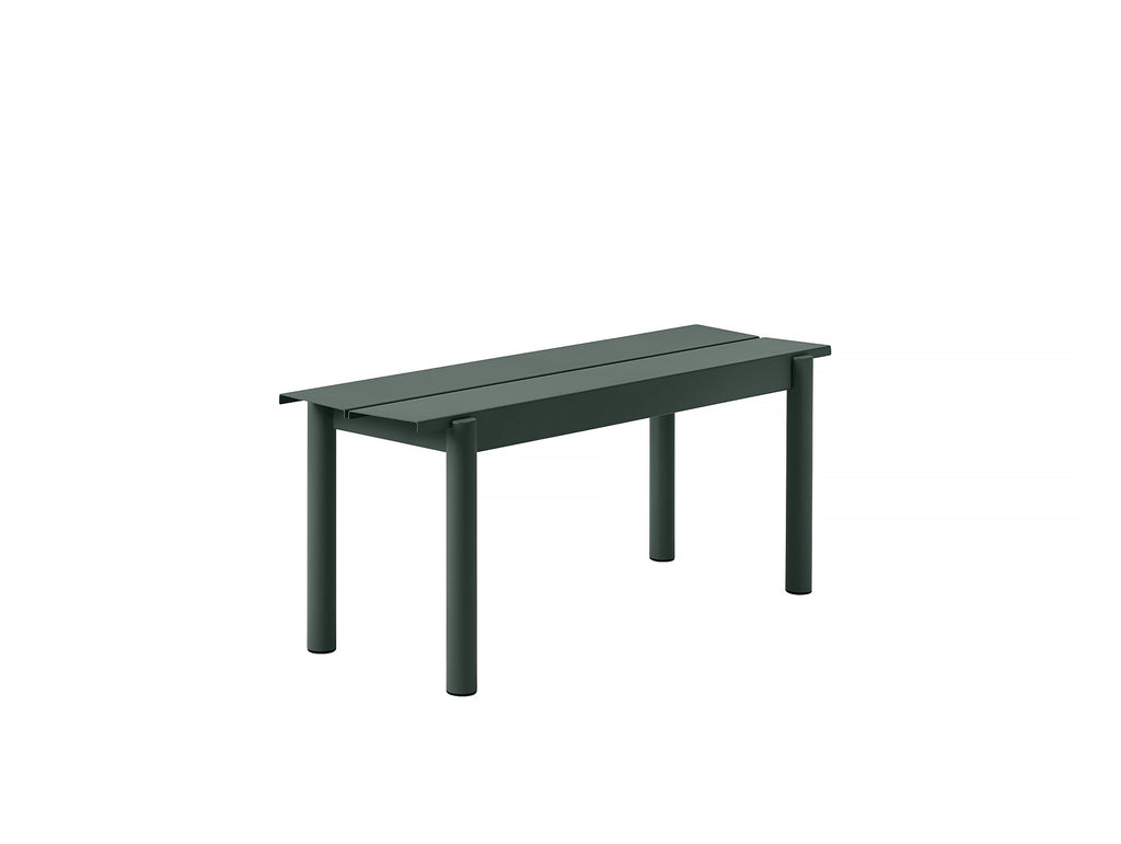 Muuto Linear Bench 110 cm - Dark Green