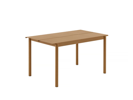 Muuto Linear Table 140 cm - Burnt Orange