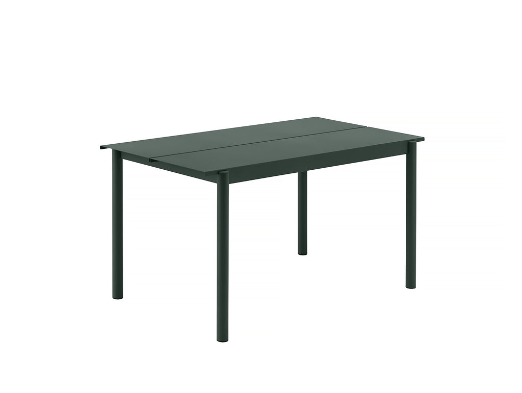 Muuto Linear Table 140 cm - Dark Green