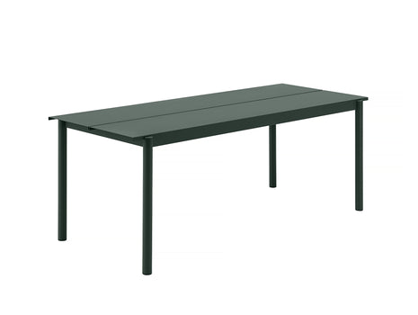 Muuto Linear Table 200 cm - Dark Green