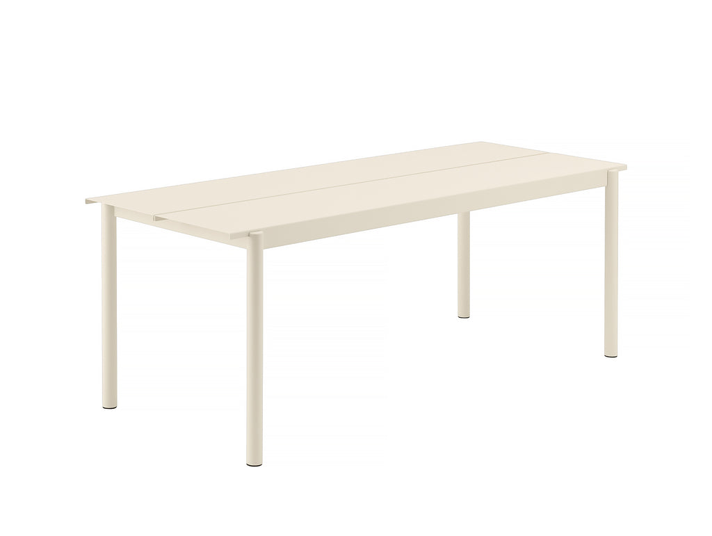 Muuto Linear Table 200 cm - Off-White