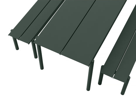 Muuto Linear Table and Bench Detail