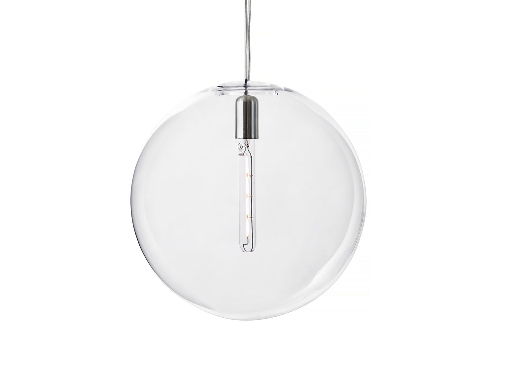 Large Luna Clear Pendant by Design House Stockholm
