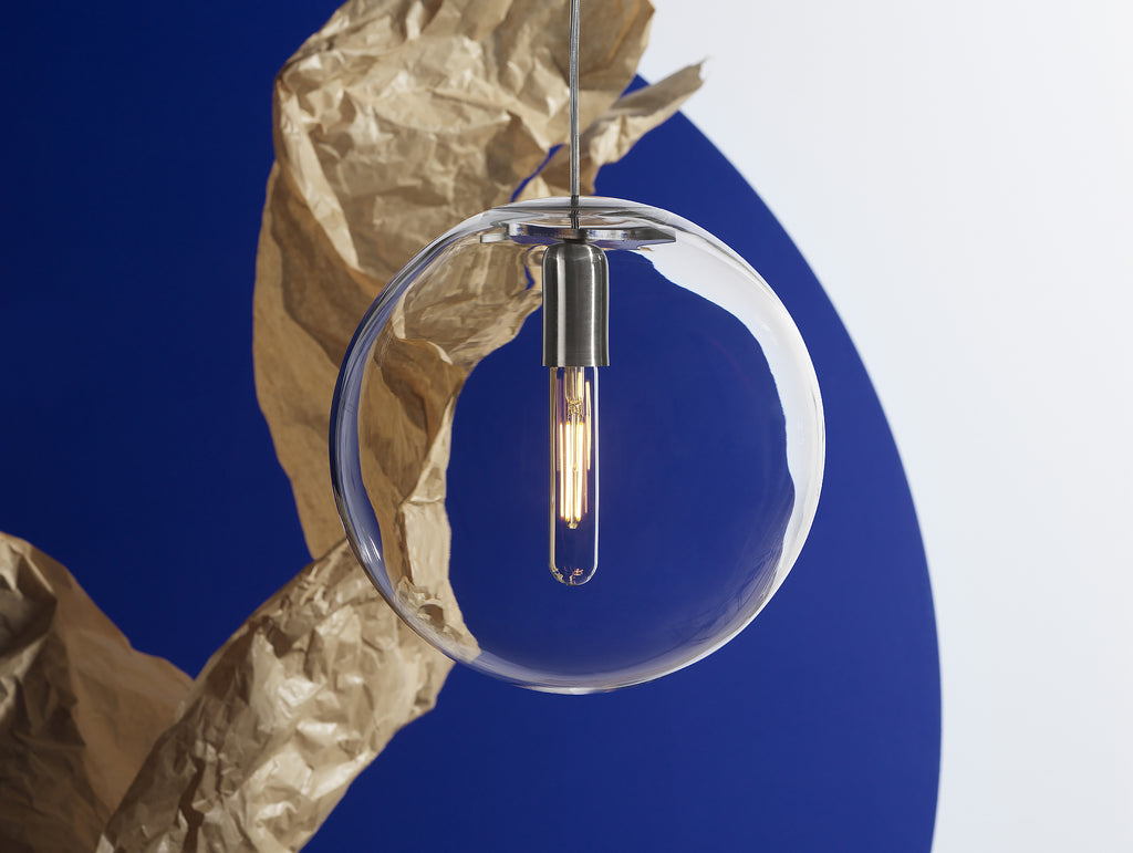 Luna Clear Pendant by Design House Stockholm