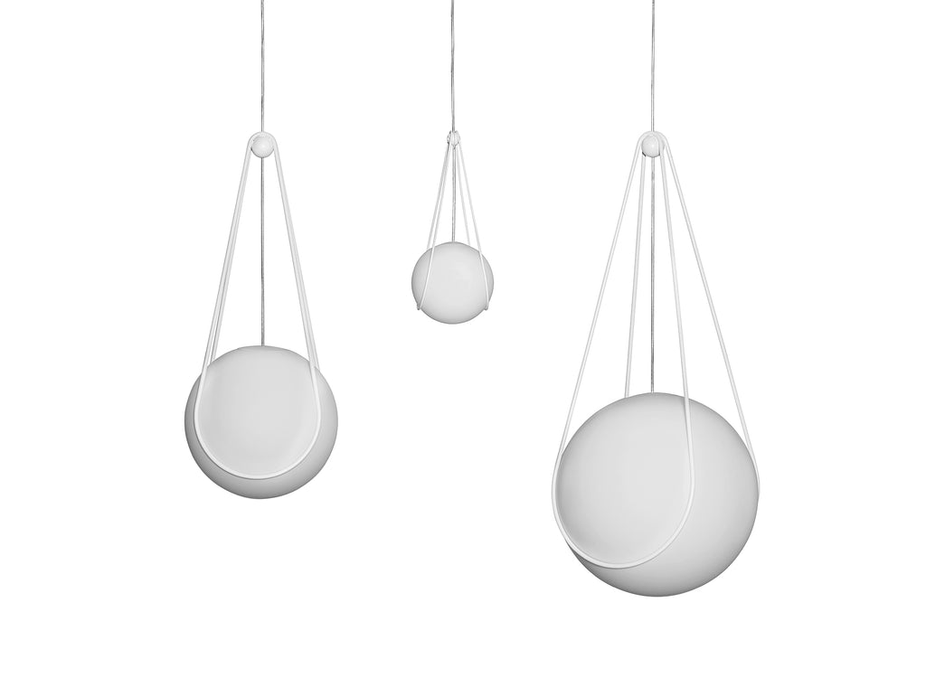 Luna and White Kosmos Lamp by Design House Stockholm