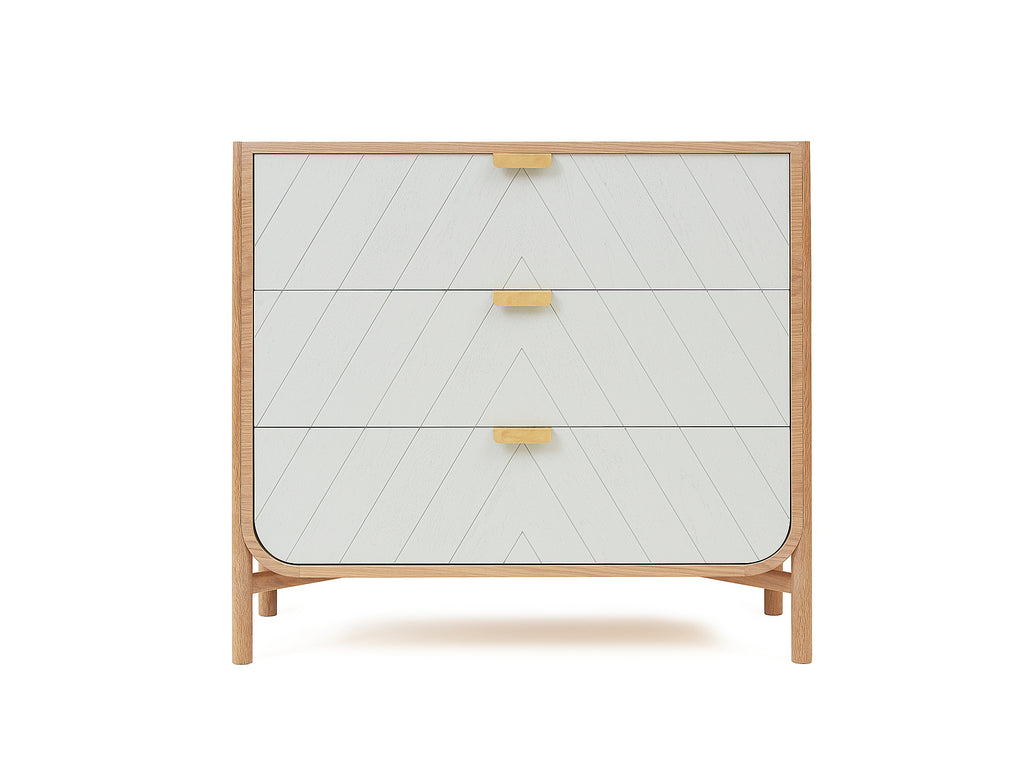 Light Grey Marius Chest of Drawers by Hartô