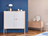 Light Grey Marius Dresser by Hârto