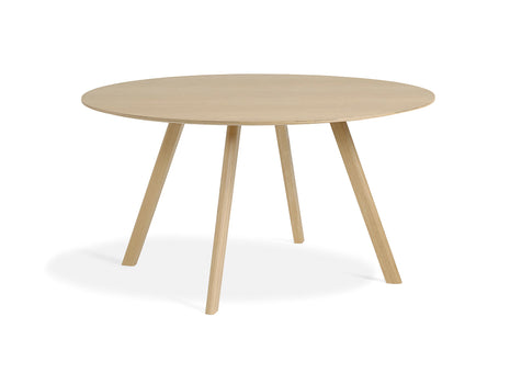 Matt Lacquered Oak Copenhague Round Dining Table CPH25 by HAY
