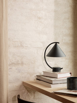 Black Meridian Lamp by Ferm Living