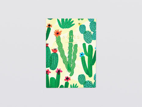 Cactus Mini Notebook by Wrap