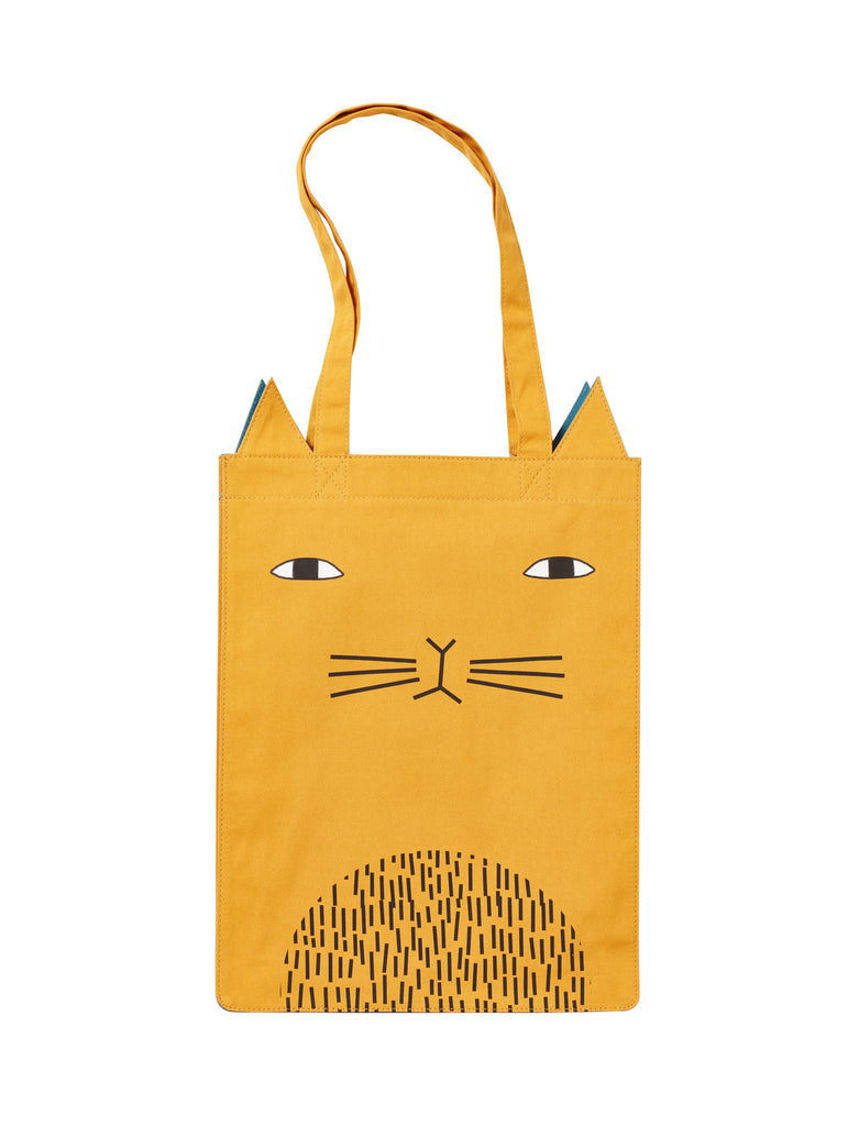 Mog Cat Tote Bag by Donna Wilson