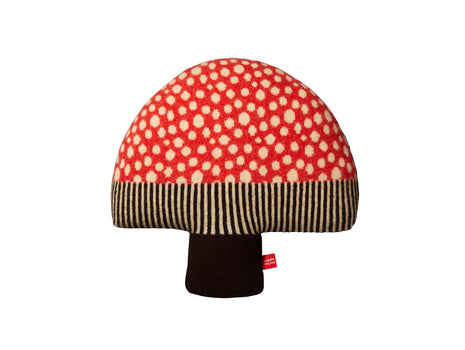 Mushroom Shaped Cushion by Donna Wilson
