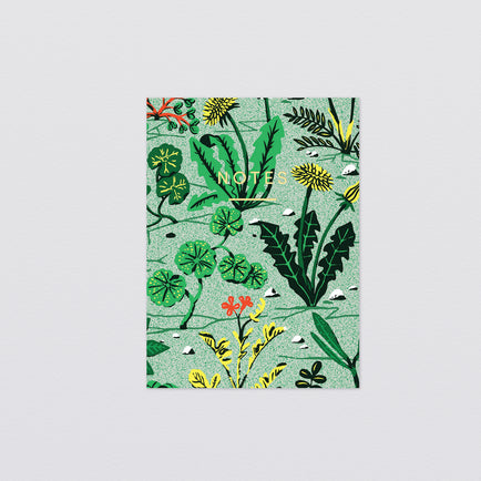 Weeds Mini Notebook by Wrap