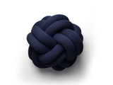 Navy Knot Cushion by Design House Stockholm
