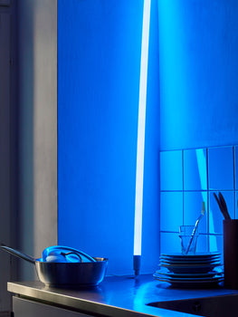 Ice Blue Neon Tube LED by HAY