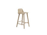 Natural Oak 65 cm Nerd Barstool by Muuto